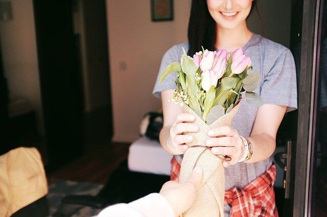 プレゼント,花束