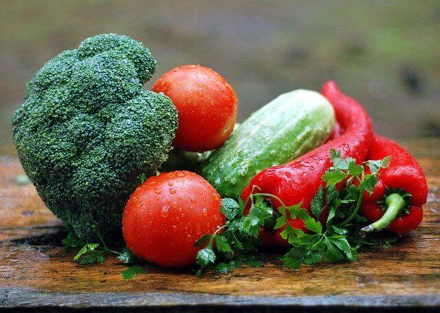 朝食,野菜