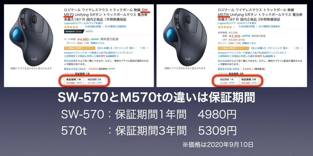 ロジクールSW-570と570Tと570の違い、見分け方