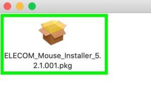 エレコム トラックボールマウス<M-HT1DRXBK>の設定