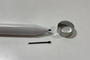 スマイルゼミのペン芯の交換方法